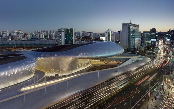 Dongdaemun Design Plaza – Séoul – Corée du Sud