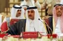 l-emir-du-qatar-cheikh-tamim-bin-hamad-al-thani-lors-d-une-reunion-du-conseil-de-cooperation-du-golfe-le-6-decembre-2016-a-manama_5892243